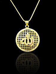 Pendants Metal / Rhinestone Round Shape As Picture 1