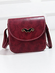 Women Shoulder Bag PU Sling Bag Magnetic Yellow Fuchsia Brown Wine Light Green