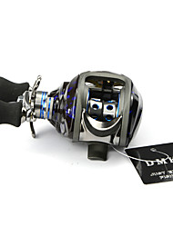 DMK SC120LE-X 13Bearing Bait Casting Fishing Reel Gear Ratio 6.3:1 Max Drag 5kg Left Handle Centrifugal Brake