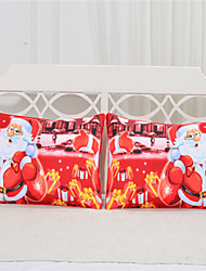 Decorative Pillowcase Christmas Night High Quality Body Pillow Protectors Bedding Kids Favorite 2Pcs/Pair 50cmx75cm