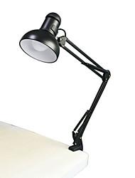 Jiawen 5W 400LM dobráveis luzes longo braço de leitura livro e27 clip-on lâmpada de mesa (AC110 ~ 220V)