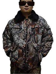 OutdoorCamouflage Hunting Jacket ,Autumn & Winter Camo Jacket Parka Coat Warm Overcoat for Hunting Fishing