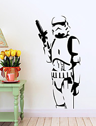 Stormtrooper Darth Vader Vinyl Wall Stickers Wall Decals Home Decor Wall Art Decal Mural Free Shipping