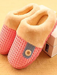 Women's Libo New Fashion Hot Sale Comfort Shoes Cotton Flat Heel Slippers Casual Blue / Pink / Purple For Lovers