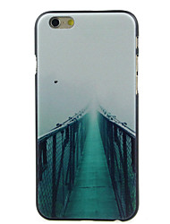 Para Funda iPhone 6 / Funda iPhone 6 Plus Diseños Funda Cubierta Trasera Funda Paisaje Dura PolicarbonatoiPhone 6s Plus/6 Plus / iPhone