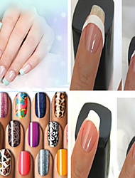 18pcs Manicure Nail Tools Smile Lines Random Color