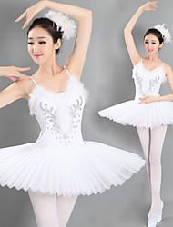 Tutús y Faldas ( Blanco , Spandex , Ballet ) - Ballet - para Mujer