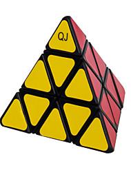 Qiji® Smooth Speed Cube 3*3*3 Speed Magic Cube Black / White Plastic