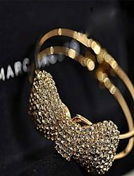 Goud / Zilver / Legering Dames Chain Armbanden Bergkristal