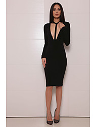 Women's Fashion Halter Sexy Club Clubwear Bodycon Party Prom Bandage Dress