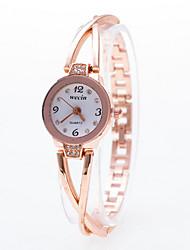 Women's Fashionable Style Alloy Analog Quartz Bracelet Watch Cool Watches Unique Watches Strap Watch