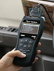 VS890 Multi-language Car Code Reader Auto Diagnostic Scanner - Black