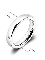 Fashion Men'S Glaze Titanium Steel Band Ring