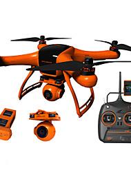 Wingsland 2.0 Zumbido 3 ejes 2 canales 2.4G RC QuadcopterRetorno con un botón / Auto-Despegue / Controle la cámara / Acceso en tiempo