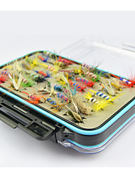 Anmuka 15*7*4.8Cm DOUBLE Genuine Fiy Box 14 Only 2Cm Buttenflies Fly Bait 14 2.5Cm 36 1.5Cm Fly Fly Fly