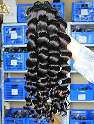Индийская девственница волос свободная волна 4bundles 6а необработанный девственные волосы индийские свободная волна девственных
