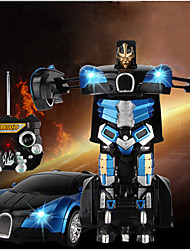 2015 Hot Sale Robort Car Electric Transformation Remote Control High Simulation RC Car Autobots Radio Control Toy