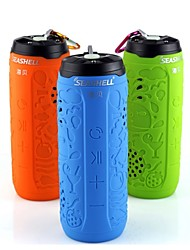 SEASHELL  Bluetooth Audio Portable Speaker Cycling/Bike / Mountain Bike Speaker Contain 8G Memory Card