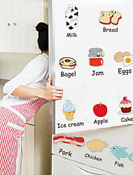 Home Rejoice Food Wall Stickers