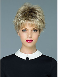 individuation  Ladys'  Short Synthetic Hair Wave Wigs
