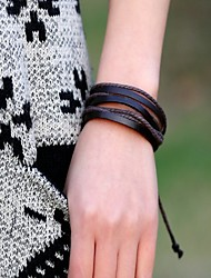 Bracelets Wrap (Cuir) Quotidien / Casual / Sports