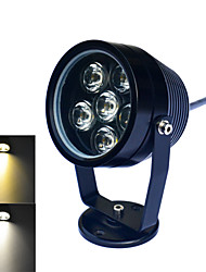 Jiawen 6W 6-LED 480Lumen 6000-6500K/3000~3200K  White /Warm white Light Underwater Lights(DC 12V)