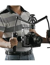 pro sistema di stabilizzazione a 2 assi fotocamera cardanico stabilizzatore meccanico WD-z per il supporto dslr rig