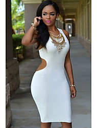 Women's  Daring Back Midi Dress