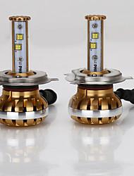 2015 voiture canbus 6000lm 60W intégré LED phare 9004 hb1 h4 faisceau haute-basse h13 9007 voiture phare de LED
