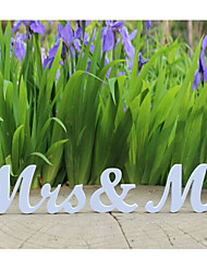 MR & MRS Wedding Alphabetical Decoration