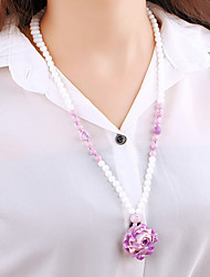 Fashion trends, the trend of the bead necklace collocation essential goods