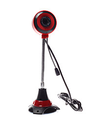 Hose Adjuable Computer Camera Base Webcam Red