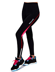 Cycling Pants Women's Breathable / Reflective Strips / 3D Pad Bike Bottoms Terylene Climbing / Leisure Sports / Cycling/Bike / Backcountry