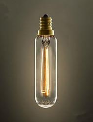 T22 Tube E14 220V-240V 40W E27 Edison Screw Light Bulb Little Retro Chandeliers Light Industry