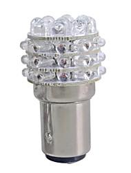 2pcs Auto t25 1157 Blinkerbirnen-Lampe rot 36 LED-Licht 12v