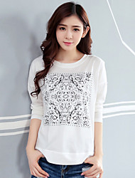 Women's Simple Design Loose T-Shirt