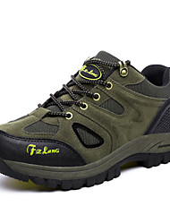 Men's Hiking Shoes Suede Brown / Green / Gray