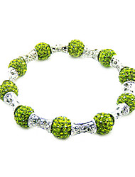 Fashion Jewelry 10MM Austrian Rhinestone Beaded DIY Bracelet Strand Beads Bracelets charms Black Bile Magnet Care