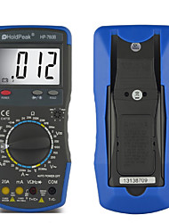 LCD Digital Display Manual Range Multimeter Backlight Auto Power Off HoldPeak HP-760B