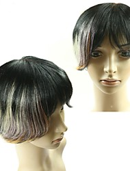 100% Real Human Hair Cheap Brazilian Glueless Wigs 1B/Brown Omber Wigs Hair Short Straight  None Lace Bob Wigs For Women