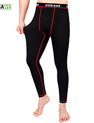 Wosawe Bike/Cycling Pants/Trousers/Overtrousers / Tights / Bottoms Unisex Thermal / Warm / CompressionPolyester / 100% Polyester /