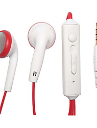 Kanen IP-509 New High Quality In-Ear 3-button Remote Control + Mic Earphones Headphones Earpiece