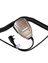 baiston bst-32 braçadeira de ferro microfone de mão para walkie talkie (cores sortidas)