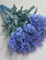 Plástico Lavanda Flores artificiais
