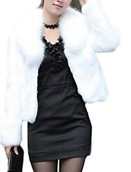 cappotti di pelliccia giacca di pelliccia giacca di modo sottile della pelliccia delle donne (più colori)