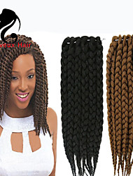 Marley Braiding Hair Afro Twist Braids Hot Selling Different Color Synthetic Braid Hair