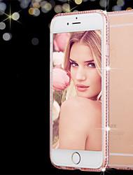 bling trasparente lusso TPU shinning cassa del telefono frizzante per iPhone 7 7 più 6S 6 Plus
