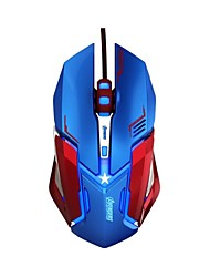 E-3lue EMS639 5Color LED Light USB Optical 4000 DPI Wired Professional Gaming Mouse