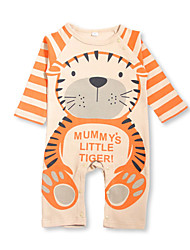 Newborn Baby Boy Girls Rompers Long Sleeve Cotton Clothes Toddler Infant Jumpsuit Animal