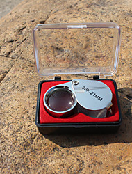 Magnifiers/Magnifier Glasses Jewelry High Definition 30x 21 Metal